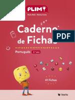 CADERNO DE FICHAS DE PORTUGUÊSPlim_2º ANO
