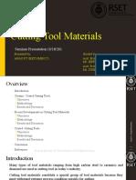 Cutting tool materials seminar ppt