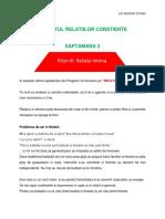 RELATII CONSTIENTE- suport curs Saptamana 3