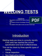 WELDING TESTS