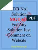 mgt610-gdb-solution.pdf · version 1