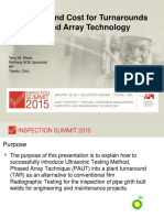 _64 Save Time and Cost for Turnarounds Using Phased Array Technology _  Terry Webb