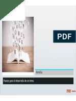 Pautas para el desarrollo de un tema escrito [Modo de compatibilidad]