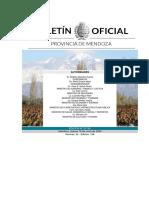 Decreto 775 que establece las salidas por terminación de DNI - Mendoza