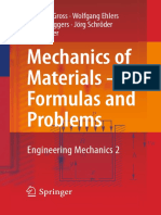 Mechanics of Materials, Formulas and Problems Engineering Mechanics 2 by Dietmar Gross, Wolfgang Ehlers, Peter Wriggers, Jorg Schroder and Ralf Muller.pdf