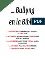 El Bullyng y la biblia digital completo