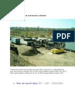 Desorbtion thermique sur site