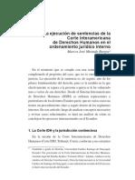 SENTENCIAS DE LA CORTE INTERAMERICANA CUMPLIMIENTO DVDIDG.