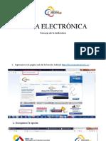 Manual para solicitar o renovar Firma Electronica Solo Judiciales