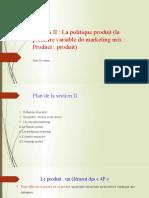 4.Section II  La politique produit .pptx
