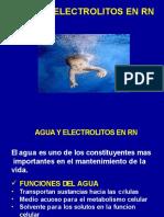 AGUA Y ELECTROLITOS RN