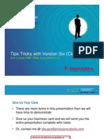 P6 Tips-Tricks Client 1