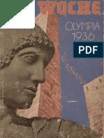 Die Woche - Olympiazeitung 1936
