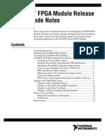 FPGA Release Notes