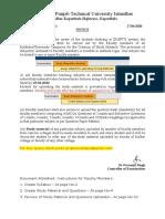 PTU Notice