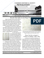 Summer 2010 Newsletter - North Berrien Historical Society