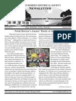 Summer 2009 Newsletter - North Berrien Historical Society
