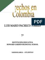 Derechos de Colombia