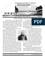 Spring 2009 Newsletter - North Berrien Historical Society