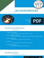 Seminario De Técnicas quirúrgicas