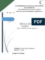 INFORME DE FIQUI REGLA DE FASES