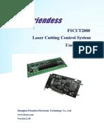FSCUT2000 Laser Cutting Control System User Manual V2.18