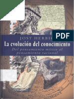 La Evolucion del Conocimiento Herbig Jost