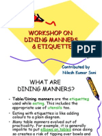 dinning manners