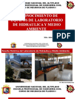 EQUIPS DE LABORATORIO DE HIDRAULICA