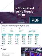 12】China Fitness and Wellbeing Trends 2018