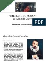 Frei Luis Personagens