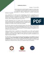Comunicado Colegios de La Salud Metropolitanos