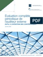 Evaluation complète cabinet d'audit