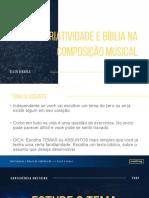 WORKSHOP DE COMPOSIÇÃO