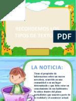 TIPOS DE TEXTOS (1)