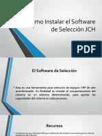 Como Instalar el Software de seleccion VRF