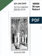 CONANT Arquitectura Carolingia y Románica