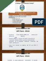Acuerdo de Promoción Comercial PERÚ-EE