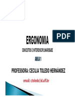 Aula de Ergonomia
