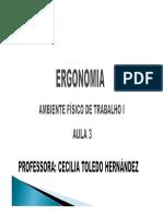 Ergonomia - Aula 3