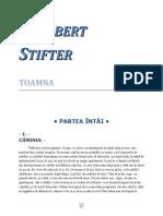 Adalbert Stifter - Toamna 0.2 05 '{Literatură}