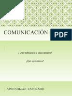 Clase 3 Comunicación