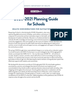 MDH and MDE K-12 Planning Guide