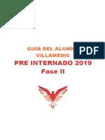 Guía del Alumno - Pre Internado 2019 - Fase 2