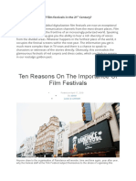 Film Festivals Importance