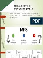 Plan Maestro de Producción (MPS)