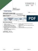 Formato Examen lenguajes de programacion II