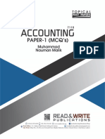 101 O Level Accounting Paper 1 (Topical & Yearly)