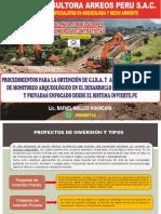 TRAMITE DE CIRA Y PMA EN LOS PROYECTOS DE INVERSION PUBLICA Y PRIVADA