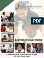 CISDR 2007-08 Annual Report